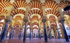 ...see the architecture of La Mezquita.