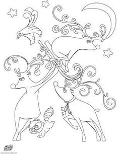 silly reindeer coloring page christmas printable christmas activities christmas crafts christmas printables