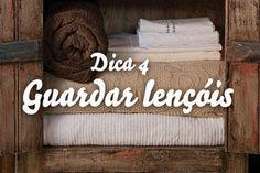 Como guardar lençóis: 7 dicas de organização