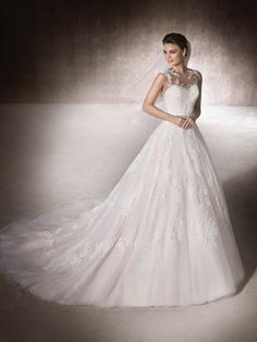 A-line wedding dress Mansia