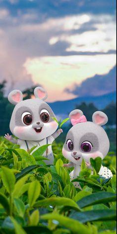 Cute Bunny Cartoon, Cute Cartoon Pictures, Cute Love Pictures, Cute Love Cartoons, Chibi Wallpaper, Cute Disney Wallpaper, Rabbit Wallpaper, Cute Love Wallpapers, Cute Cartoon Wallpapers