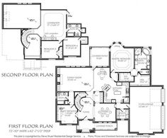 Texas House Plans - 3320 sqft - this size is on the bigger side but it would work for us. Home Design Floor Plans, Plan Design, House Floor Plans, House Yard Design, Texas Homes, New Homes, Texas House Plans, My Dream Home, Dream Big