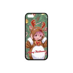 Madoka Magica Merry Christmas Rubber Case for iPhone SE