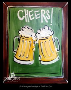 Cheers to Oktoberfest Painting - Jackie Schon, The Paint Bar