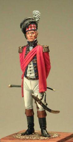Офицер Шотландия 1812 год
