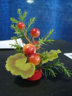 """place in class by Stephanie Gerckens. """"Bacterial Culture"""" A Miniature design. Contemporary Flower Arrangements, Small Flower Arrangements, Flower Centerpieces, Small Flowers, Table Centerpieces, Garden Show, Garden Club, Flower Show, Miniture Things"""