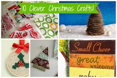 1- Clever Christmas Crafts