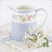 Jarra de Porcelana Ivy Blue 0,5 L