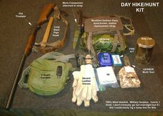 A great look at a kit put together for a day out.