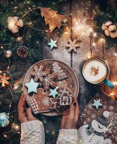 > Feature Chosen by… Cosy Christmas, Christmas Feeling, Christmas Wonderland, Christmas Cookies, Christmas Time, Xmas, Christmas Phone Wallpaper, Illustration Noel, Christmas Aesthetic