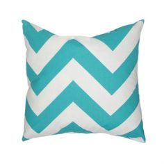 """20"""" x 20"""" Chilhowie Pillow, Turquoise made by Elisabeth Michael ."""