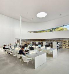 Futuristic Media Library in Thionville, France – Fubiz Media