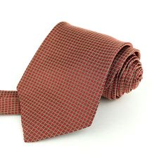 NEW BROOKS BROTHERS USA 57 Classic Red Beige Plaid Grid Texture Silk Neck Tie #BrooksBrothers | Men's Fashion & Style | Shop Menswear, Men's Clothes, Men's Apparel & Accessories at designerclothingf... | Find Sport Coats, Blazers, Suits, Shirts, Polos, Pants/Trousers and More...