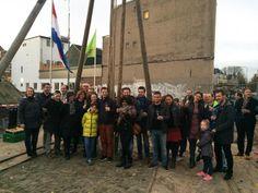 Start bouw nieuw buurtje in historisch Spijkerbroek Arnhem. #Spijkerbroek