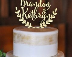 wedding cake topper – Etsy