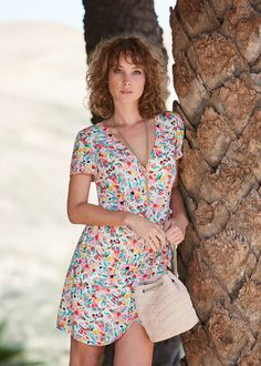 Sézane - Robe Olympia Olympia, la robe cache-cœur à porter sans modération ! 301be3b3046