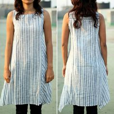 #onsale  Pinstripe Grey Tunic. This easy to maintain outfit spells effortless chic. When you choose a Warm regards outfit, you can rest be assured that it is ethically made with absolute integrity. Originally priced at 3200 INR it's up for sale at 1900 INR. (29 $) Size : Extra Small and Medium Free shipping in India. An additional 200 INR for worldwide shipping. Shop directly from Etsy : http://www.etsy.com/shop/warmregardsshop #summer #sale #worldwideshipping #ethicalfashion #womenswear…