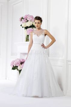 Jasmine Bridal F161016 Ball Gown Wedding Dress $290.99 Jasmine Bridal