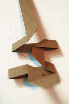 Folded Typography.