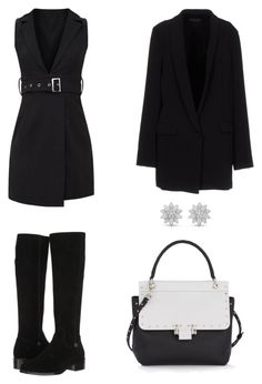 """Outfit"" by lilyhastings98 on Polyvore featuring moda, Frye, Lanvin ve Twin-Set"