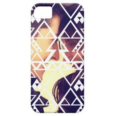 Tribal Photo Cutout Design iPhone 5/5S Cover