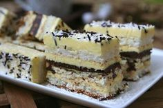 Retete Culinare - will be baking this next week Sweets Recipes, No Bake Desserts, Delicious Desserts, Cake Recipes, Yummy Food, Romanian Desserts, Romanian Food, Hungarian Recipes, Vegan Kitchen