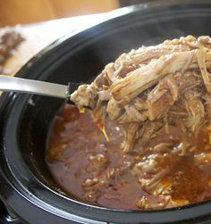 Recipe for Chipotle and Citrus Pulled Pork - Carnitas - I have to tell you, these carnitas taste incredible the next day, as the meat has a chance to marinade overnight in all these flavors.