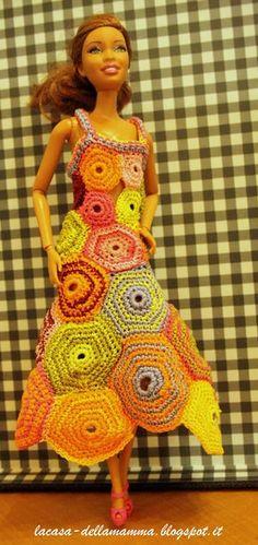 36 Fantastiche Immagini Su Vestiti Per Le Bambole Alluncinetto Nel