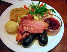 Traditional Estonian food