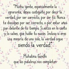 Mahatma Gandhi #frases #citas