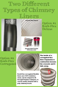 If You Are In Need Of A Chimney Flue Liner There Two Options When