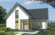 Projekt domu Borys wersja A bez garażu FAWORYT!!!