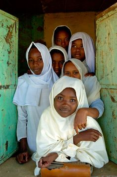 Untitled by Nicholas Pitt on 500px - Schoolgirls at Musna El Basal School Kassala Sudan Africa.