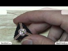 Peyote Stitch triangle