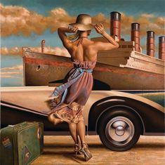 Peregrine Heathcote – artist from England, vintage style drawings beauty and silverscreen-era romance More info and pics: The Official Website of Peregrine Heathcote Pin Up and Cartoon Girls Pinup, Florence Academy Of Art, Art Deco Posters, Edward Hopper, London Art, Pulp Art, Art Deco Fashion, Science Fiction, Glamour