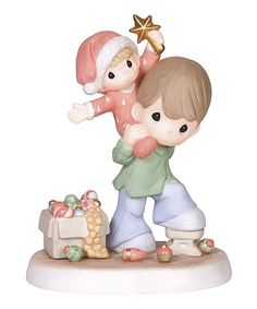 Precious Moments Father & Son Star Porcelain Figurine | zulily