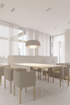 Roohome.com - For you who want to make your home looks luxurious, you may decorate it with awesome and perfect features decor in it. Here, Igor Sirotov offers white luxury house design which arranges with white color schemes as the main color. He creates a brilliant and creative idea to ...