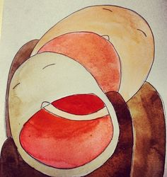 my illustration - watercolour