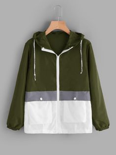 Zip Up Hoodies, Mens Sweatshirts, Color Verde Militar, Winter Outfits, Cool Outfits, Hoodie Outfit, Sporty Chic, Jackets Online, Cute Tops