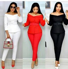 Get the best look of creative latest designs and african fashion styles that are recently trendy and . Classy Work Outfits, Classy Casual, Classy Dress, Chic Outfits, Fashion Outfits, Fashion Styles, Latest African Fashion Dresses, African Print Fashion, Looks Style