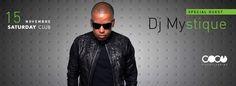 SPECIAL GUEST DJ MYSTIQUE – COCO' DISCOCLUBBING -CAGLIARI – SABATO 15 NOVEMBRE 2014