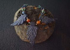 A personal favorite from my Etsy shop https://www.etsy.com/listing/506716434/lapis-lazuli-leaf-necklace-handmade-mix