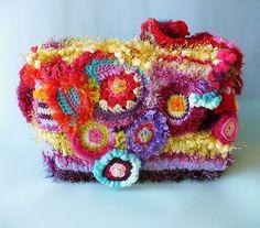 decoreblablabla bag...a rainbow #bag #craft