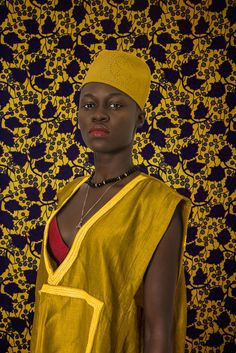 Senegalese photographer Omar Victor Diop highlights leaders of Dakar's young, creative scene in 'The Studio of Vanities.' This portrait is… African Print Fashion, Tribal Fashion, Fashion Art, Ankara Fashion, Afrique Art, Contemporary African Art, African Artists, African Diaspora, Expositions