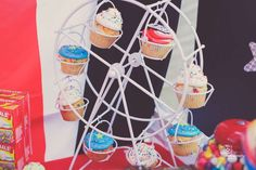 Circus / Carnival Birthday Party Ideas | Photo 3 of 35 | Catch My Party