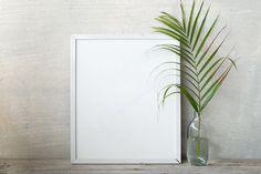 blank frame poster by ptystockphoto on @creativemarket