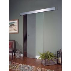 "Glass Barn Door, 30"" x 80"", Opaque - Walmart.com"