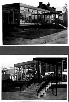 """Kingsthorpe Library - April 1969 - known as """"The Greenhouse"""""""