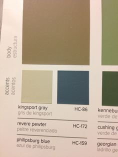 Best Benjamin Moore S Stone Hearth Kingsport Gray And Home On 400 x 300
