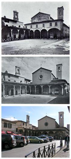 """Figline - Piazza San Francesco """"Piazza dé Frati"""""""